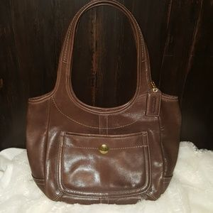 Wow! Vintage Genuine Leather Like New Ergo Coach